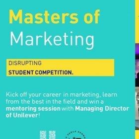 Soutěž Masters of Marketing 2018